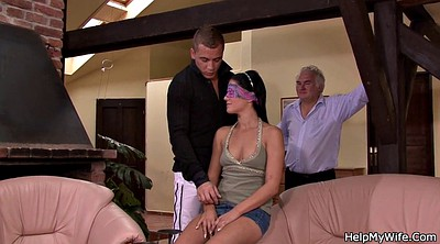 Old young, Surprise, Cuckold wife, Czech wife