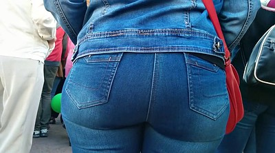 Jeans, Mature big ass