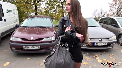 Czech, Taxi, Party girl, Lost, Czech taxi