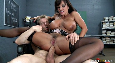 Lisa ann, Group sex