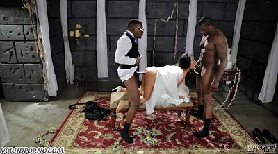 Bride, Asian anal, Group anal, Black fuck asian