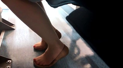 Nylon feet, Nylon, Shoeplay