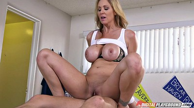 Julia ann, Julia, Big breasts, Julia ann milf