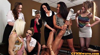 Cfnm handjob, Jerk, Jerk of