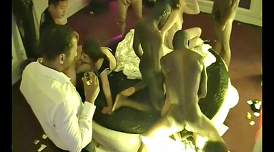 Private, French couple, Voyeur couple, Swinger party