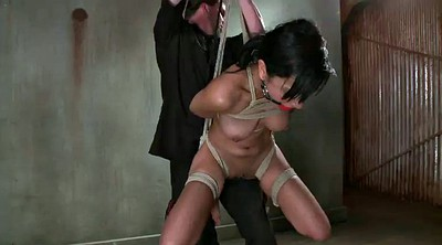 Tied up, Big boobs, Rope