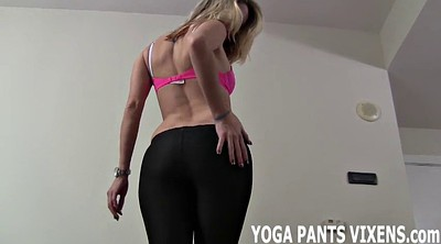 Yoga, Yoga pants, Pants, Tight pants, Big butts