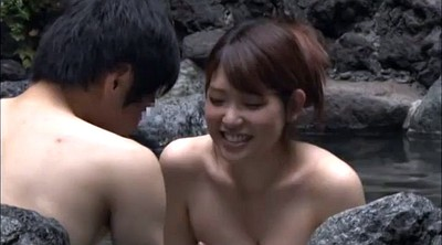 Japanese tits, Sauna, Spa, Japanese spa, Asians