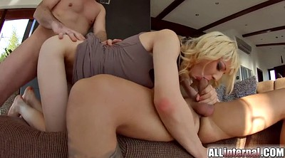 Threesome creampie