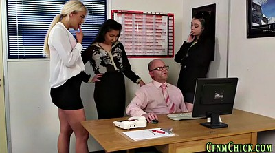 Office, Handjobs, Office masturbation