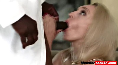 Interracial, Monster cock