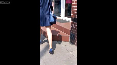 Hidden cam, Heels, Sexy dress, Hidden cams