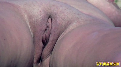 Close up, Big clit, Nudist