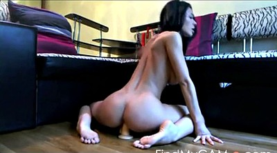 Dildo riding, Toys, Riding dildo, Busty webcam