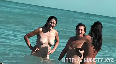 Video, Nude beach, At