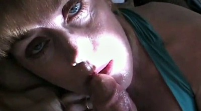 Granny blowjob, Drinking, Cum swallow, Swallowing, Granny facial