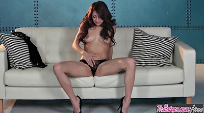 Asian lesbian, Asian dildo, Asian masturbation, Twistys, Lexi