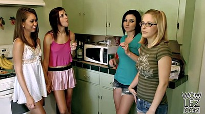 Caught, Lesbian girls, Penny, Big pennis, Apartment