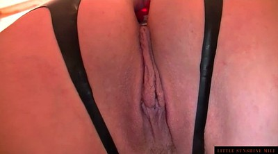 Blindfold, German mature, Mature close up pussy, Mature bdsm, Latex bdsm