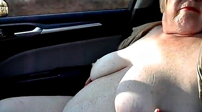Car, Flashing, Nude, Car flash