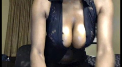 Ebony big tits, German ebony