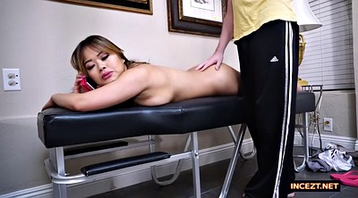 Asian massage, Phone, On phone, While phone, On the phone