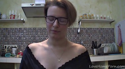 Kitchen, Chat, Solo girl, Chatting