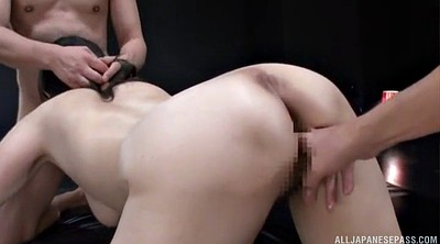 Japanese model, Japanese big tits, Japanese threesome, Japanese handjob