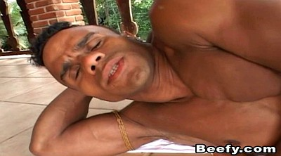Black gay, Ebony muscle