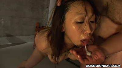 Tied, Japanese bdsm, Tied up and fucked, Tied and fucked, Japanese deep throat, Asian bondage