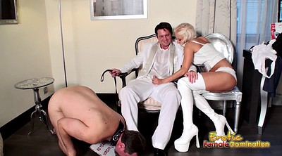 Face, Boot, Slaves, Cuckold cleaning