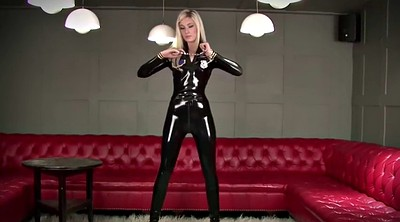 Police, Latex bdsm, Catsuit
