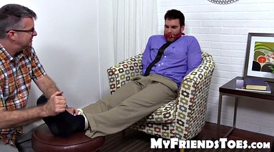 Gay foot, Tied feet, Chase, Tied gagged, Feet gagging