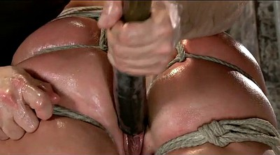 Blonde mature, Mature tied