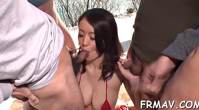 Japanese sex, Asian threesome