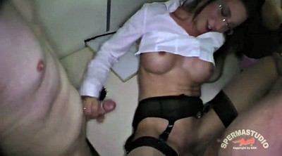 Gangbang creampie, Office gangbang, German creampie gangbang, Office sex, Office creampie