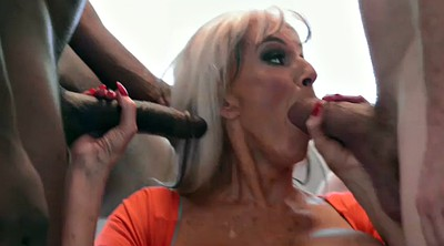 Granny anal, Mature double penetration, Sally