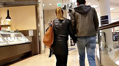 Hidden, Hidden cam, Leather, Up skirt