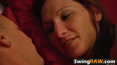 Swingers, Young couple, Young blonde, Milf swinger