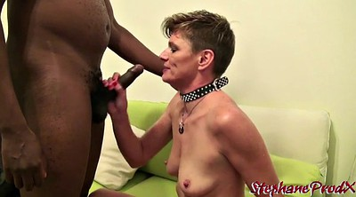Ebony casting, Milf casting, French interracial
