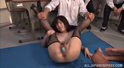 Asian teacher, Asian orgasm, Wild sex, Teacher sex, Teacher gangbang, Hairy teacher