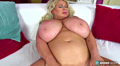 Bbw solo, Natural big tits, Blonde mature