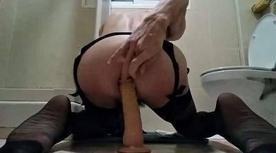 Stockings anal, Stocking anal, Black stock