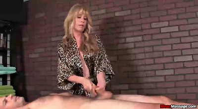 Happy ending, Mature handjob