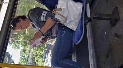 Bus, Candid, On bus