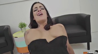 Spanked, Busy, Business, Tit spanking, Business trip