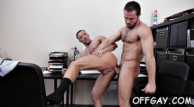 Office anal, Gay office