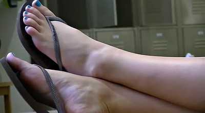 Teen, Candid, Legs, Library, Candid foot, Feet candid