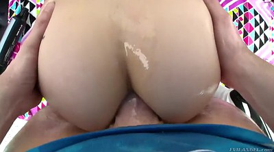 Oiled anal, Luna love, Anal toy