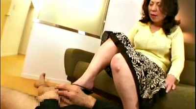 Foot worship, Mature foot, Mature feet, Asian foot worship